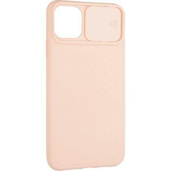 Защитный чехол Slide Camera от AirCase для iPhone 12 Pro Max розовый