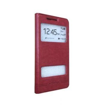 Чехол книжка Perfect от MOMAX для Meizu M5 красный