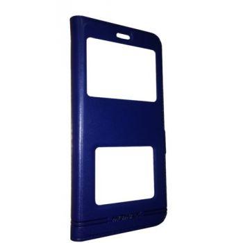 Чехол книжка Perfect от MOMAX для Huawei Nova 3i / P Smart Plus синий