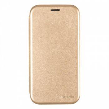 Чехол книжка из кожи Ranger от G-Case для Huawei Honor 6a золото