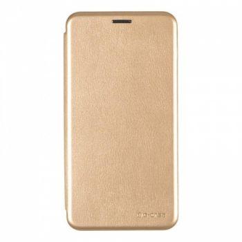 Чехол книжка из кожи Ranger от G-Case для Huawei Honor 7x золото