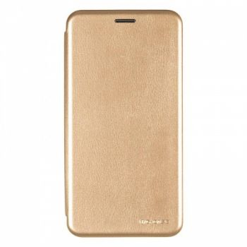 Чехол книжка из кожи Ranger от G-Case для Huawei Nova 2s золото