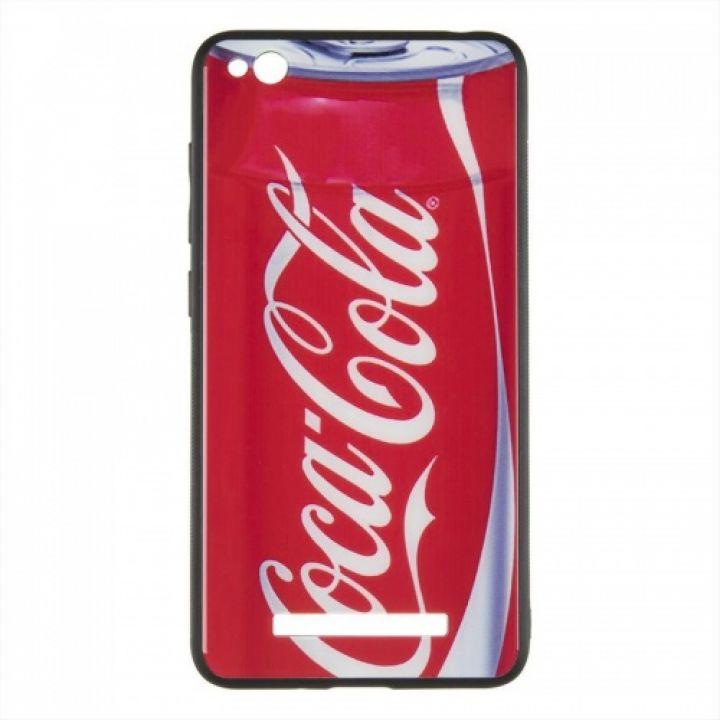 Силиконовая накладка с принтом от iPaky для Xiaomi Redmi 5 Plus Enjoy Coca-Cola