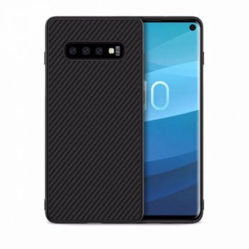 Черный Carbon Black чехол для Samsung Galaxy S10 Plus