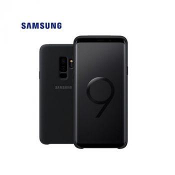 Оригинальный чехол накладка Silicone Case для Samsung Galaxy S9 black