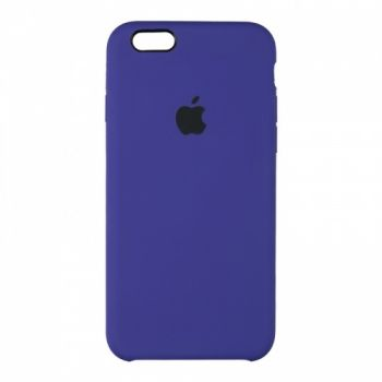 Оригинальный чехол накладка Soft Case для iPhone 6 фиолетовый