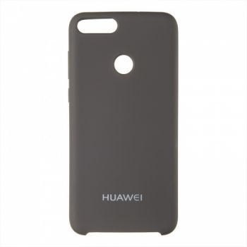 Оригинальный чехол накладка Soft Case для Huawei Mate 10 Lite кофейный