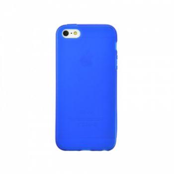 Оригинальная силиконовая накладка для iPhone 5 синий