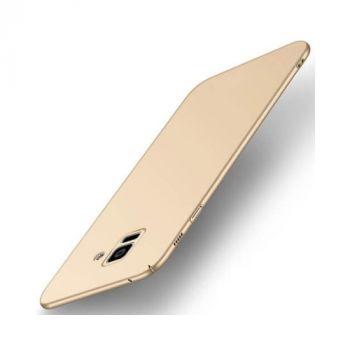 Эксклюзивный чехол Silk Touch для Samsung Galaxy S9 Plus золотой