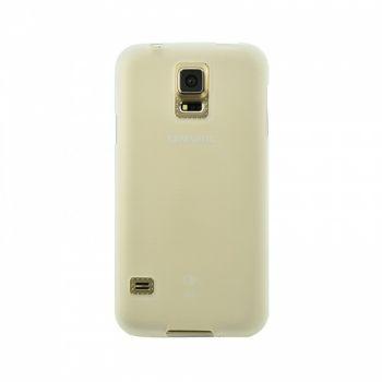 Оригинальная силиконовая накладка для Samsung J105 (J1 Mini) белый