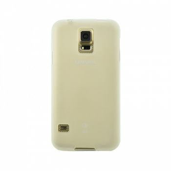 Оригинальная силиконовая накладка для Samsung J110 (J1 Ace) белый
