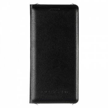 Оригинальная кожаная книжка для Samsung J810 (J8-2018) черный