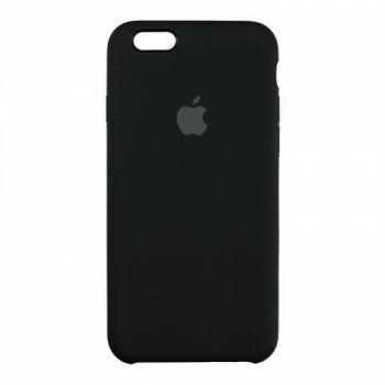Оригинальный чехол накладка Soft Case для iPhone 6 Plus черный