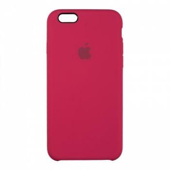 Оригинальный чехол накладка Soft Case для iPhone 5 бордо