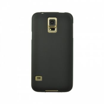 Оригинальная силиконовая накладка для Samsung S2 (I9100) черный