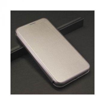 Красивый чехол флип серого цвета Luxor для iPhone Xs