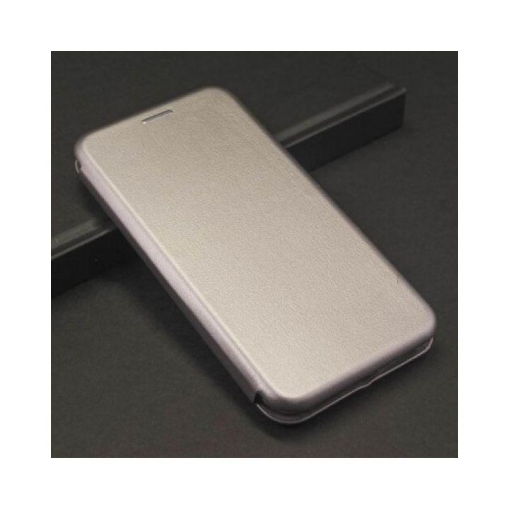 Красивый чехол флип серого цвета Luxor для iPhone X