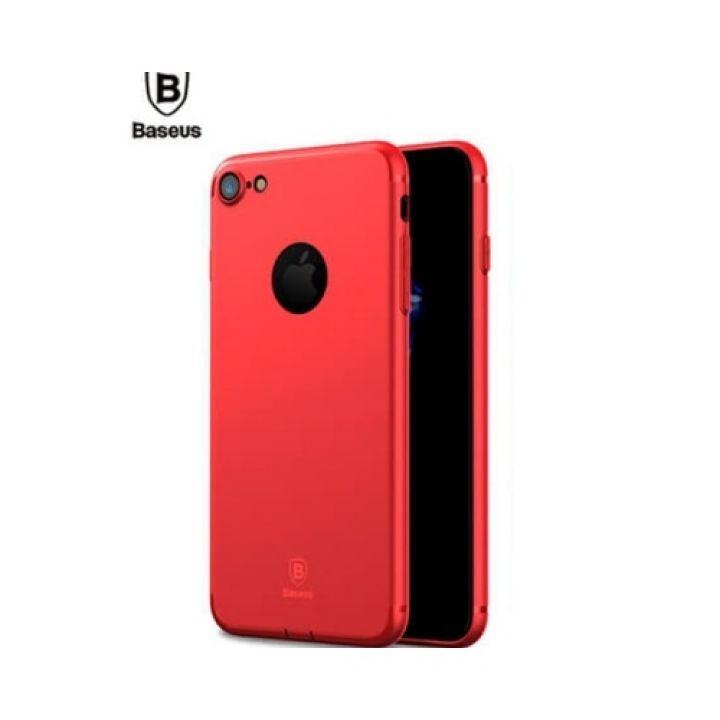 Силиконовый чехол накладка красного цвета UltraSlim для iPhone 7