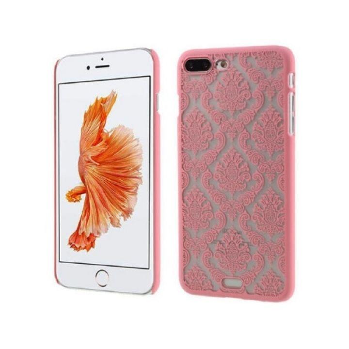 Яркий чехол накладка Damask Vintage для iPhone 8 Plus rose