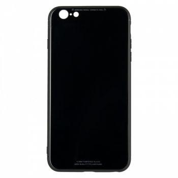 Чехол накладка со стеклом iPaky Glass для Huawei Y7 Prime черный