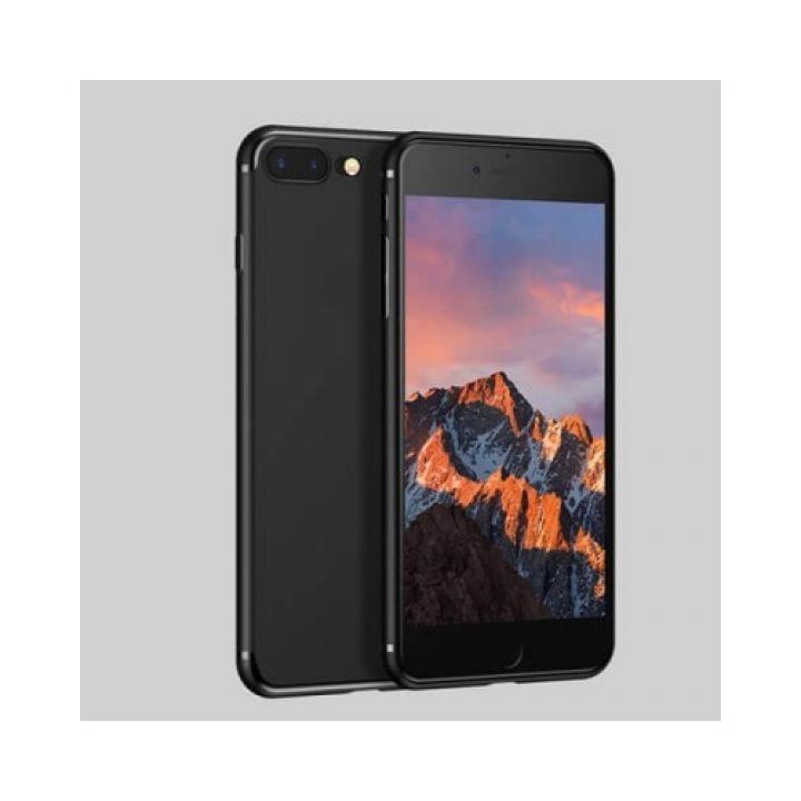 Черный силиконовый чехол накладка UltraSlim для iPhone 8 Plus