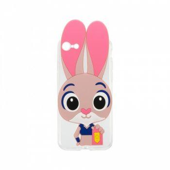 Силиконовый чехол Зверополис Rabbit для iPhone 4/4S