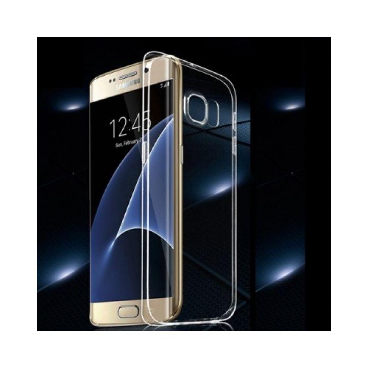 Прозрачный чехол накладка Bright для Samsung Galaxy S7 Edge