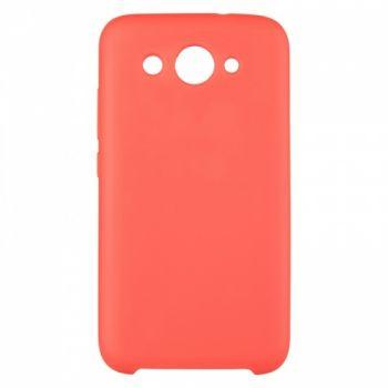 Оригинальный чехол накладка Soft Case для Huawei P20 Lite красный