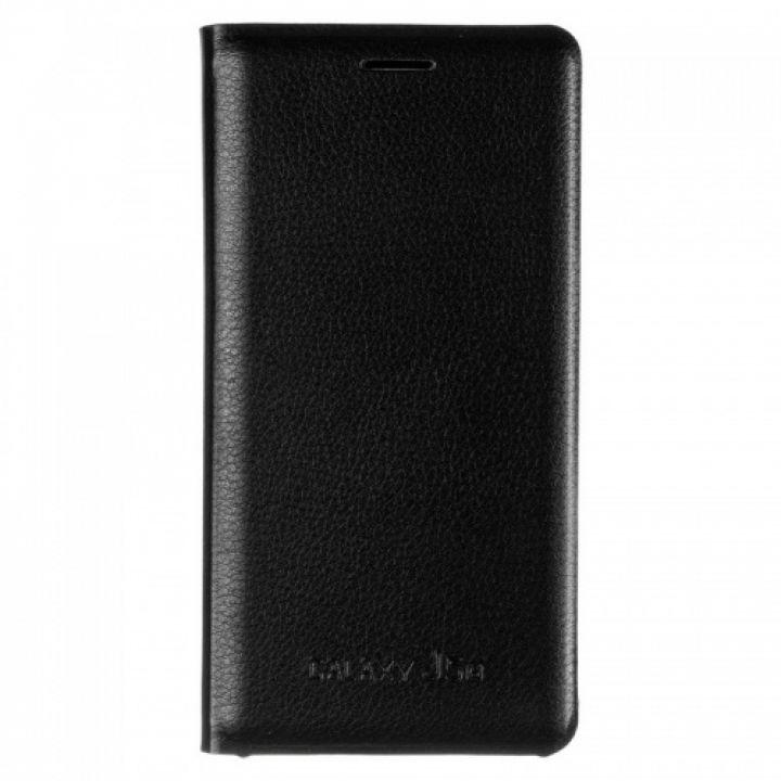 Оригинальная кожаная книжка для Samsung J510 (J5-2016) черный