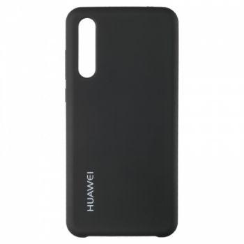 Оригинальный чехол накладка Soft Case для Huawei P20 Pro черный