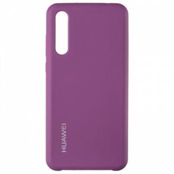 Оригинальный чехол накладка Soft Case для Huawei P20 Pro фиолетовый