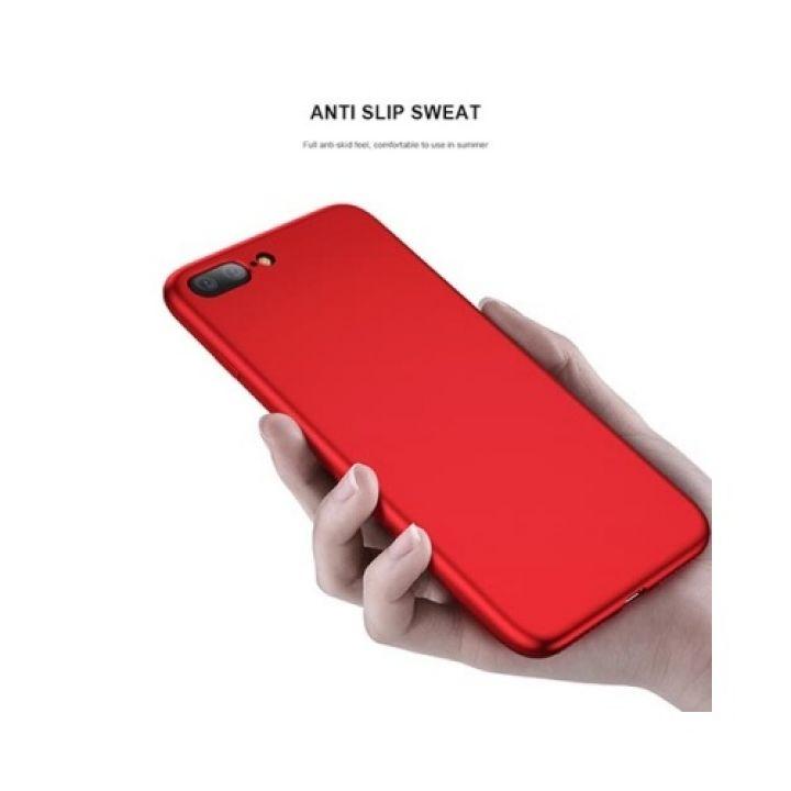 Оригинальный тпу чехол накладка Red Slim для iPhone 7