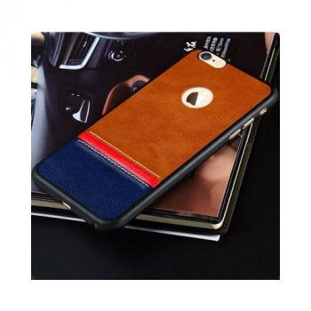 Оригинальный кожаный чехол накладка Velvet для iPhone 6 PLus black