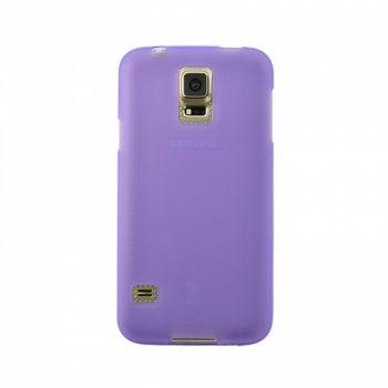 Оригинальная силиконовая накладка для Samsung G900 Galaxy S5 фиолетовый