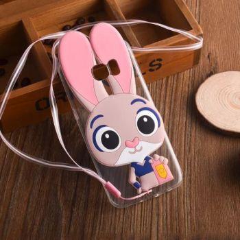 Детский чехол Зверополис Кролик для Samsung S7