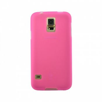 Оригинальная силиконовая накладка для Samsung I9500 Galaxy S4 розовый