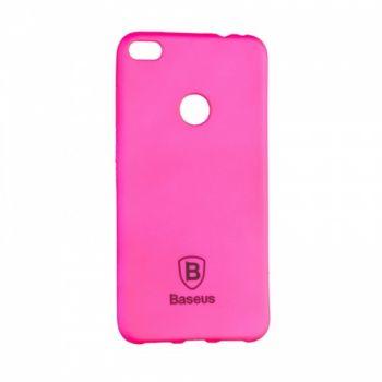 Яркий силиконовый чехол Colorit от Baseus для Huawei Y3 II розовый