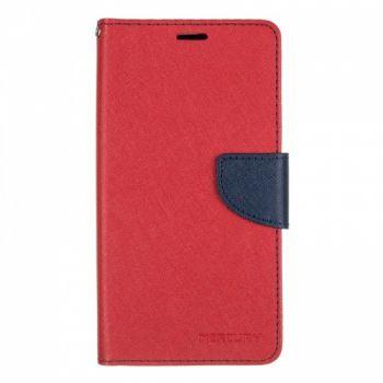 Чехол книжка из материи о Goospery для Meizu M6 Note красный