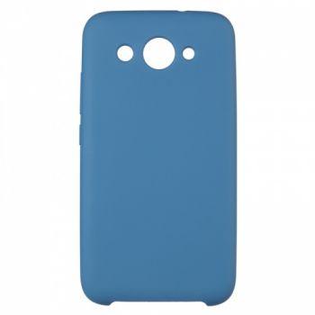 Оригинальный чехол накладка Soft Case для Huawei P20 Lite темно-синий