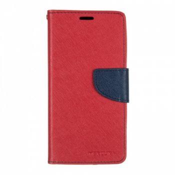 Чехол книжка из материи о Goospery для Meizu M6 красный