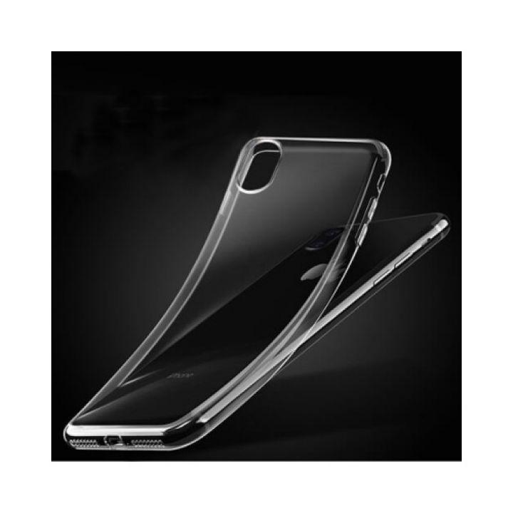 Прозрачный силиконовый чехол накладка Clear для iPhone X