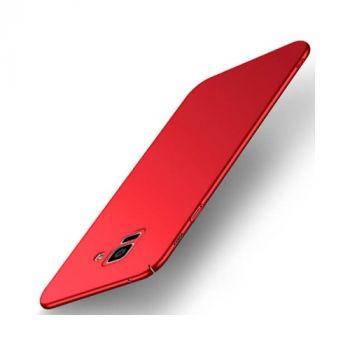 Красный ультратонкий чехол Silk Touch для Samsung Galaxy S9 Plus