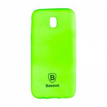 Яркий силиконовый чехол Colorit от Baseus для Samsung J530 (J5-2017) зеленый
