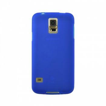 Оригинальная силиконовая накладка для Samsung J110 (J1 Ace) синий