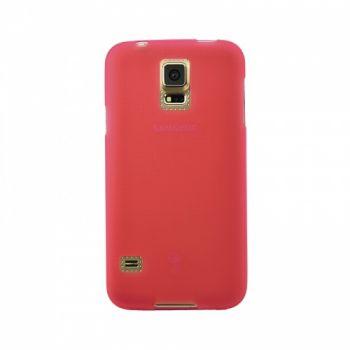 Оригинальная силиконовая накладка для Samsung J110 (J1 Ace) красный