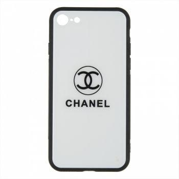 Силиконовая накладка с принтом от iPaky для iPhone 6 Plus белый Channel