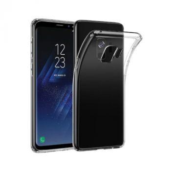Прозрачный силиконовый чехол для Samsung Galaxy S9 Plus