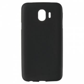 Оригинальная силиконовая накладка для Samsung A600 (A6-2018) черный