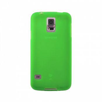 Оригинальная силиконовая накладка для Samsung J700 (J7) зеленый