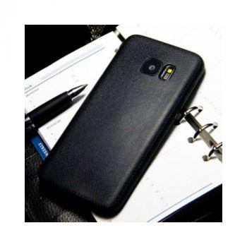 Чехол-накладка Imitation для Samsung Galaxy S7 Edge black